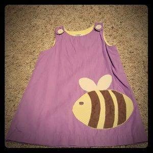 Baby Boden Bee dress 12-18 Months